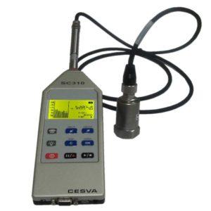 CESVA SC310 + VM310 Monoaxiale Trillingsmeter