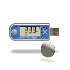 Track it temperature data logger display