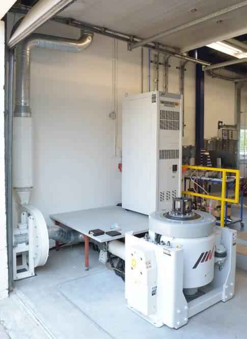 Nieuwe IMV AKRON Shaker operationeel bij GKN Fokker Elmo
