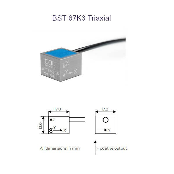 BST 67K3 Triaxial Bay SensorTec