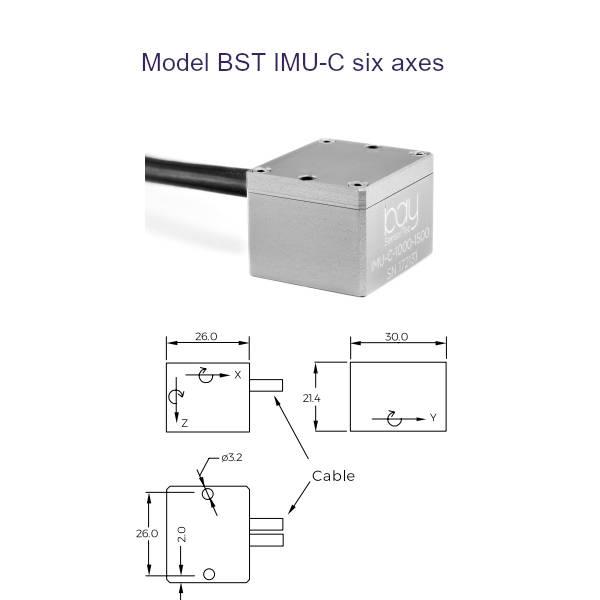 Model BST IMU C six axes Bay SensorTec